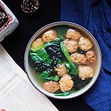 蔬菜丸子汤