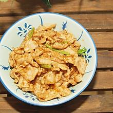 #快手又营养,我家的冬日必备菜品#沙茶酱炒肉片