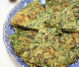 #拉歌帝尼菜谱#荠菜鸡蛋饼的做法