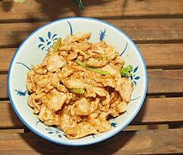 #快手又营养,我家的冬日必备菜品#沙茶酱炒肉片的做法