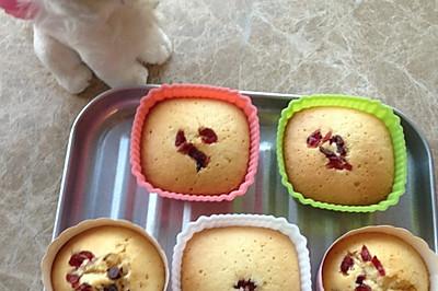 蜂蜜蔓越莓蛋糕
