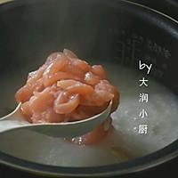 快手鸡丝香菇粥#急速早餐#的做法图解5