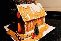 圣诞姜糖屋的做法