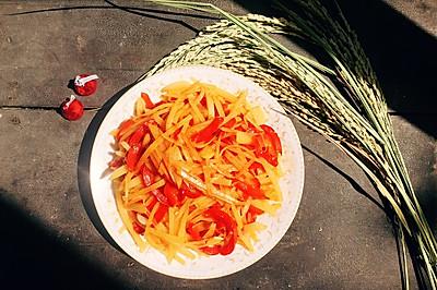 红椒土豆丝