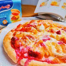 """#""""佳""""节好滋味#夏威夷风情水果披萨"""