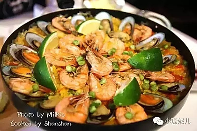 不用去西班牙,也能做出最地道的海鲜饭!