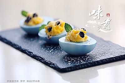 梅子海盐鸡蛋沙拉杯