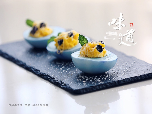 梅子海盐鸡蛋沙拉杯的做法
