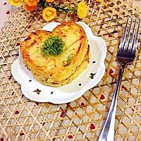 健康早餐土豆鸡蛋饼的做法图解12