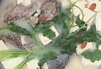 鱼头豆腐浓汤的做法