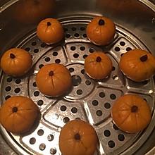香甜糯糯南瓜饼,自制豆馅版