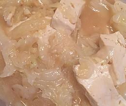 豆腐白菜的做法