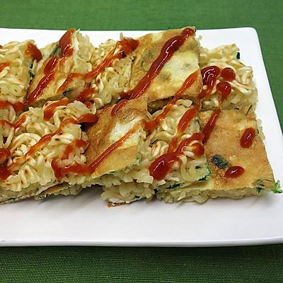 泡面蛋饼煎  ★方便面变身料理 5