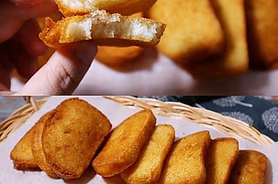 炸馍儿片❗️儿时味道❗️快手早晚餐  油炸馒头片(咸香味)
