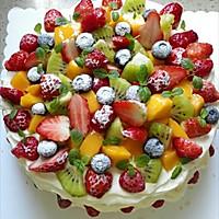 水果奶油裸蛋糕(八寸)#豆果5周年#的做法图解21