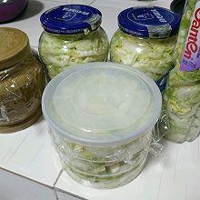 简易版腌酸菜