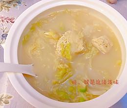 冻豆腐白菜土豆汤的做法