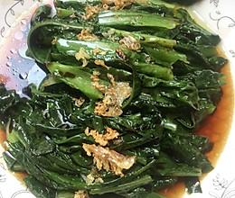 烫油麦菜(蒜蓉油麦菜)的做法