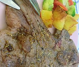 #人人能开小吃店#香煎羊排的做法