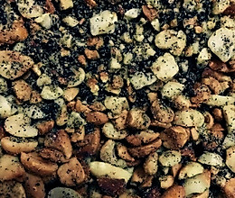 花生芝麻盐的做法