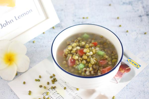 【冰镇绿豆汤】一碗清甜的做法