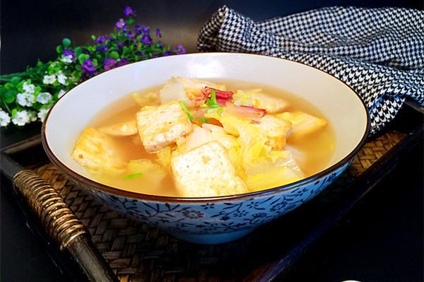 娃娃菜豆腐汤#春天不减肥,夏天肉堆堆#的做法