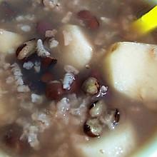 红豆 山药 糯米粥