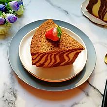 斑马纹戚风蛋糕(8寸)#新年自制伴手礼,红红火火一整年!#