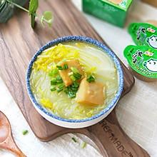 鱼豆腐白菜粉丝汤