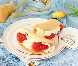 韩式草莓蛋糕卷#做道好菜,自我宠爱!#的做法