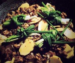 黄焖兔肉的做法