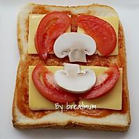 吐司批萨-5分钟搞定超简易的营养早餐的做法图解4