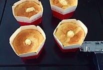 北海道牛乳戚风被子蛋糕(驸香草奶油馅儿做法)的做法