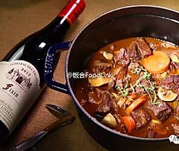 饭合丨勃艮第红酒炖牛肉的做法