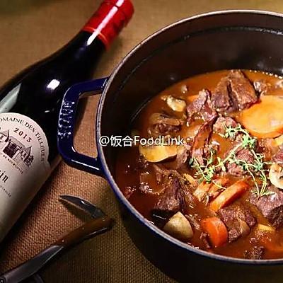 饭合丨勃艮第红酒炖牛肉