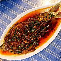 红烧鳊鱼的做法图解9