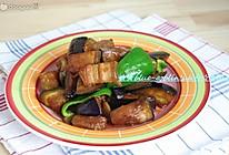五花肉酱烧茄子的做法