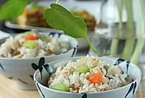蔬菜糙米饭的做法