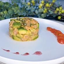 ❤️三文鱼牛油果色拉❤️美容养颜佳品