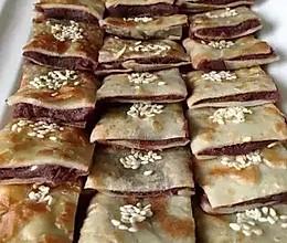 豆沙煎饼的做法