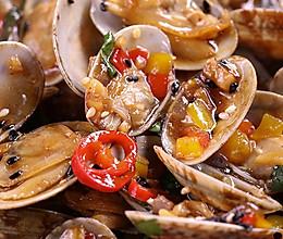 豉汁炒蛤蜊:清香鲜美还下酒!的做法