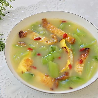 清香消暑健康简单-丝瓜荷包蛋汤
