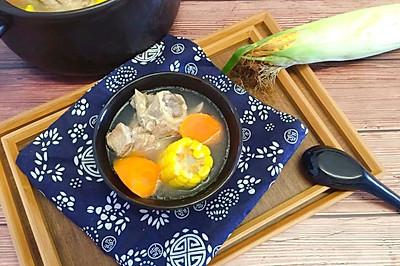 补钙神器玉米煲大骨头汤