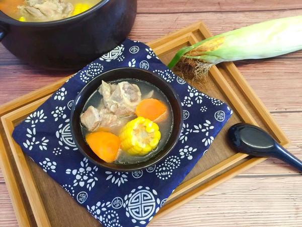 补钙神器玉米煲大骨头汤的做法
