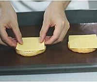 双层肉饼吉士汉堡的做法图解13