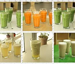 自制排毒果蔬汁的做法