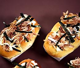 德普烘焙食谱—章鱼小丸子面包的做法