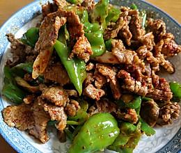 螺丝椒炒羊肉的做法