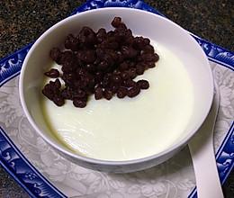 香滑红豆双皮奶的做法