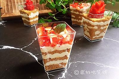 草莓木糠杯